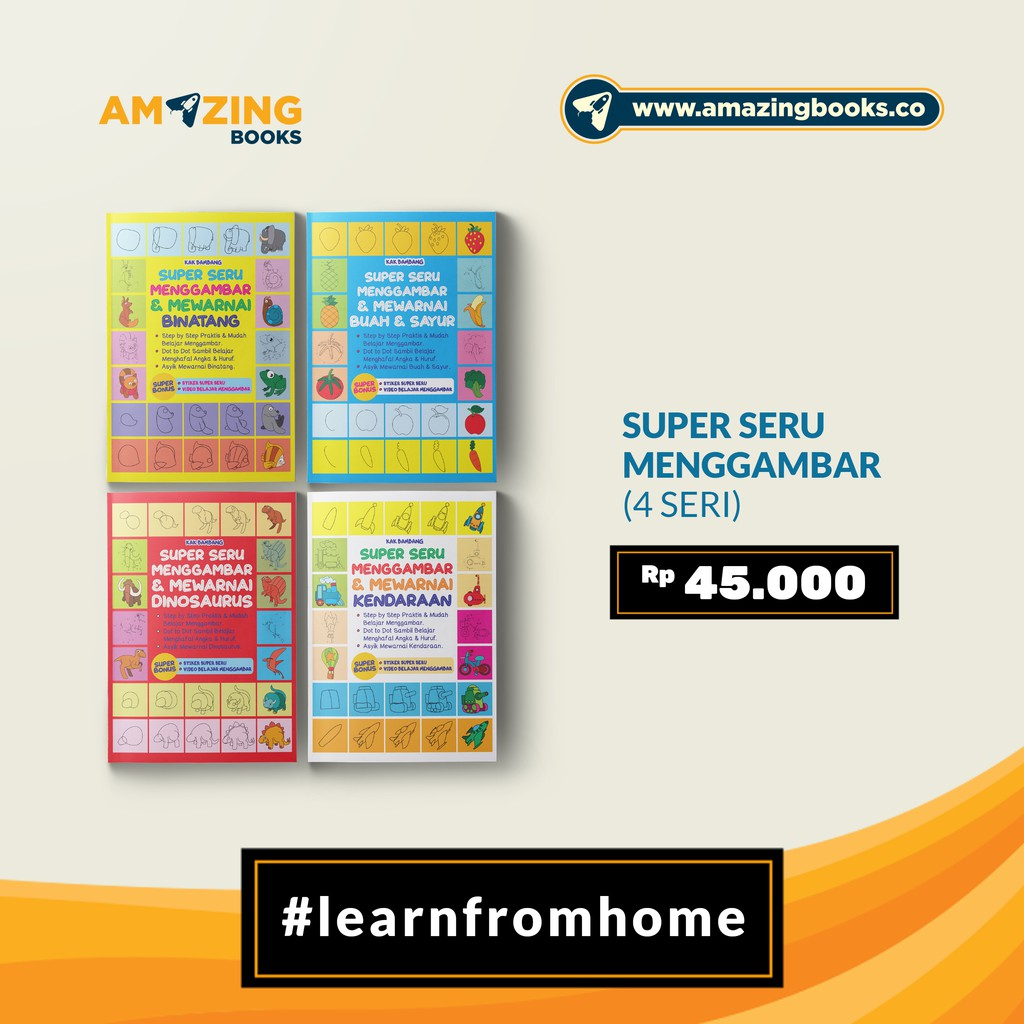 FLASH SALE PAKET BELAJAR MENGGAMBAR SUPERSERU