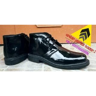 Price Sepatu Pdh Satpam-Security-Tni-Polri Kilap Tanpa Semir - Hitam a7816d6517