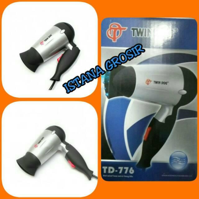 Mini Travel Hair Dryer FLECO 221 A  Hairdryer  Pengering Rambut Lipat  fccae86b00