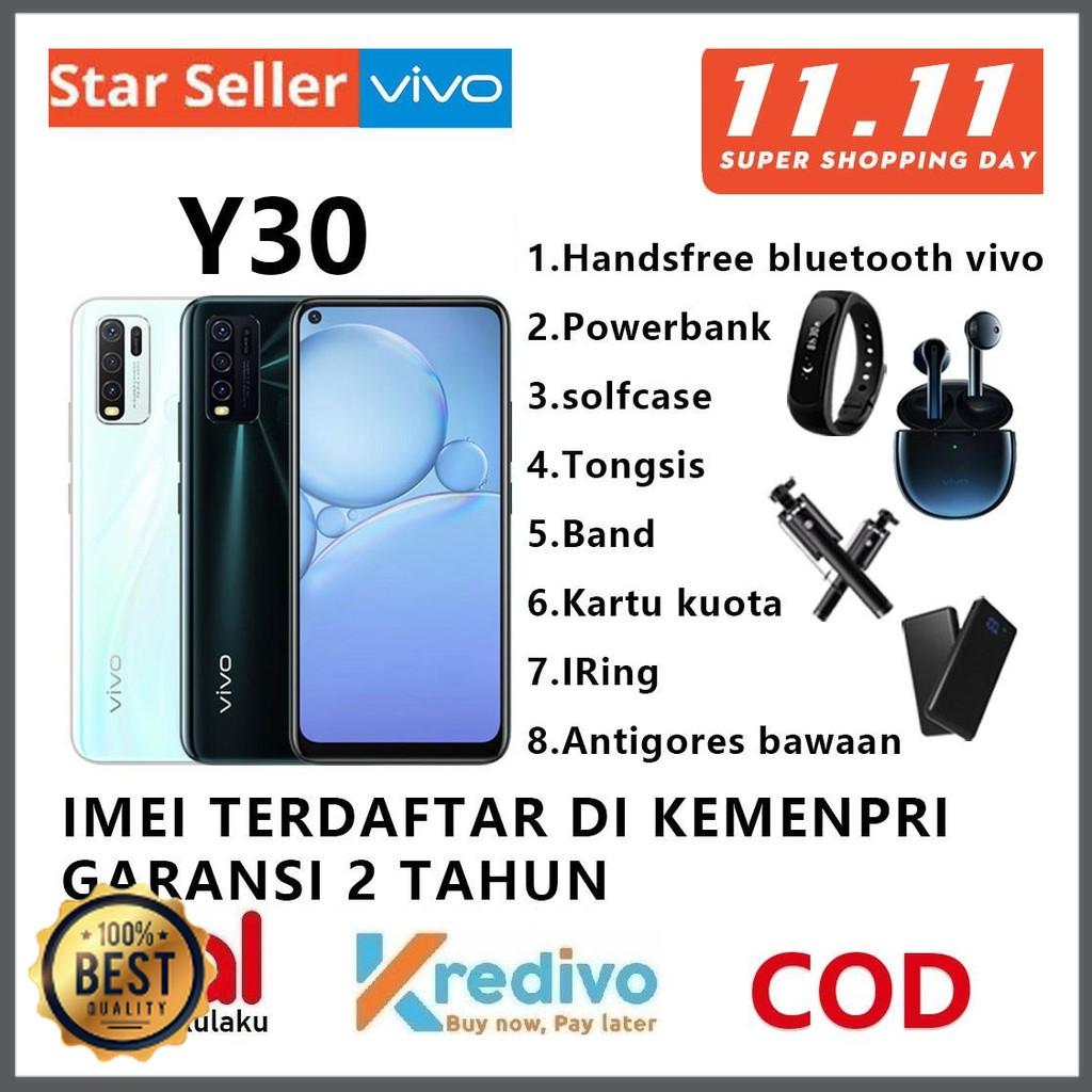 VIVO Y30 VIVO Y30i RAM 6+128GB/4+128GB Garansi Resmi 100% Original vivo y30 vivo y30i