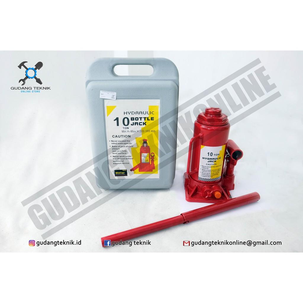 Dongkrak Botol 50 Ton Hidraulik Hydraulic Bottle Jack 50t Tongkat Buaya 2 Tekiro Hidrolik Utuh Shopee Indonesia