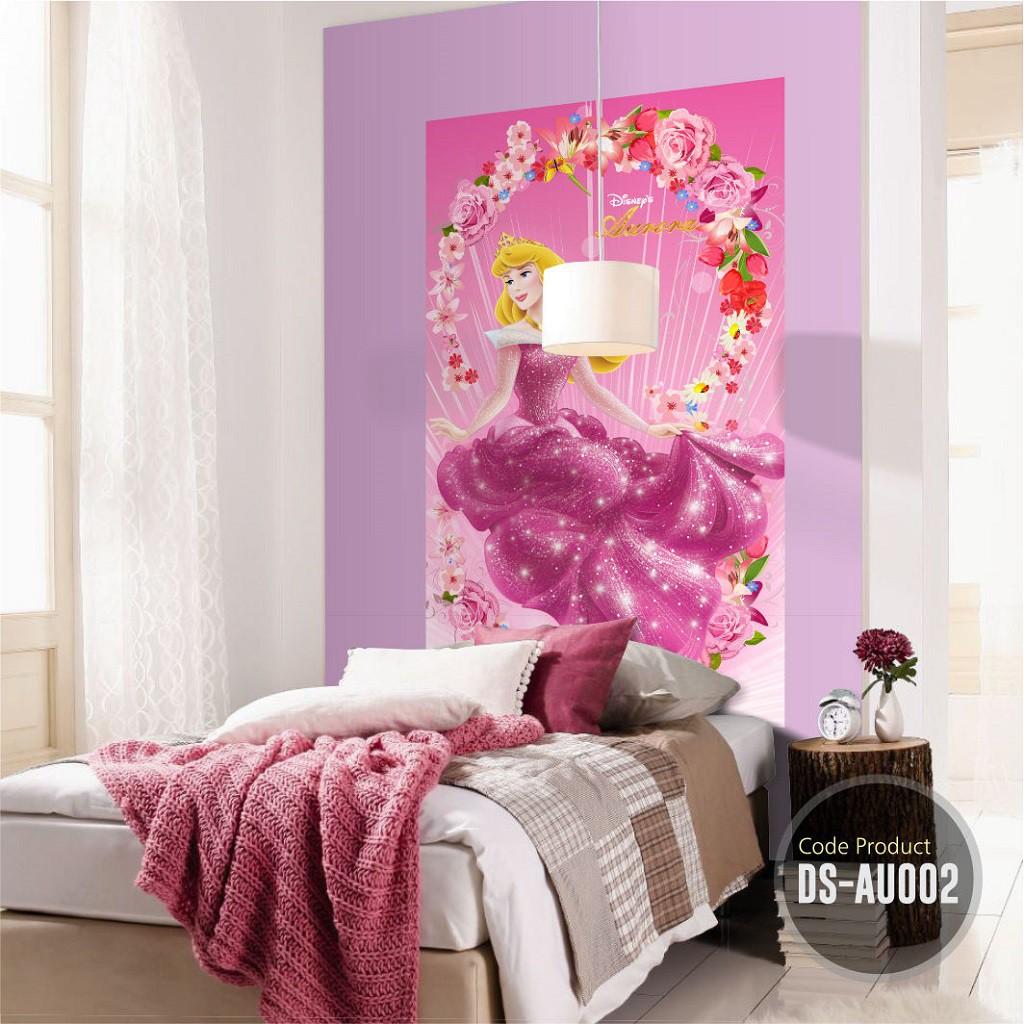 Stiker Dinding Besar Princess Aurora Cocok Untuk Wall Sticker Kamar Ruang Tamu Dekorasi Cafe