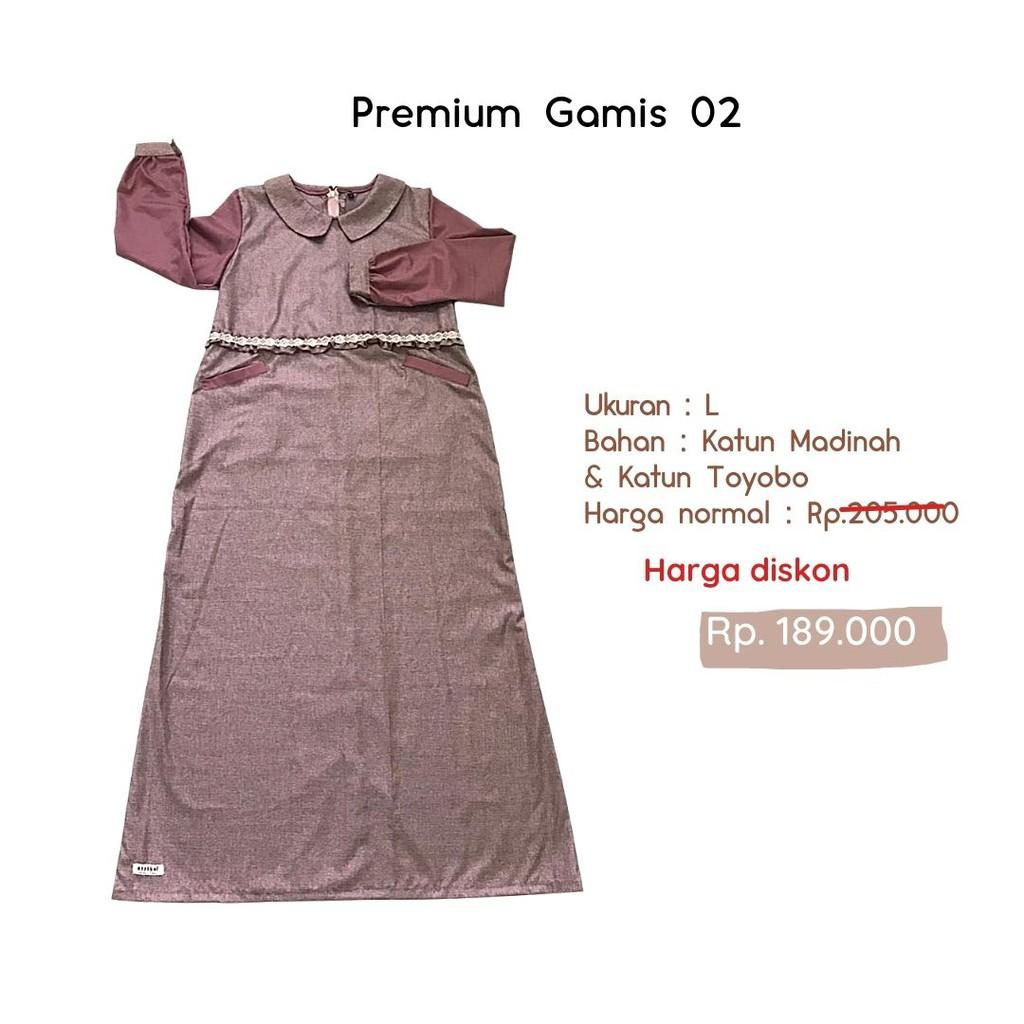 EZZABEL - PREMIUM GAMIS 02 - BAJU HARIAN SANTRI GONTOR PUTRI