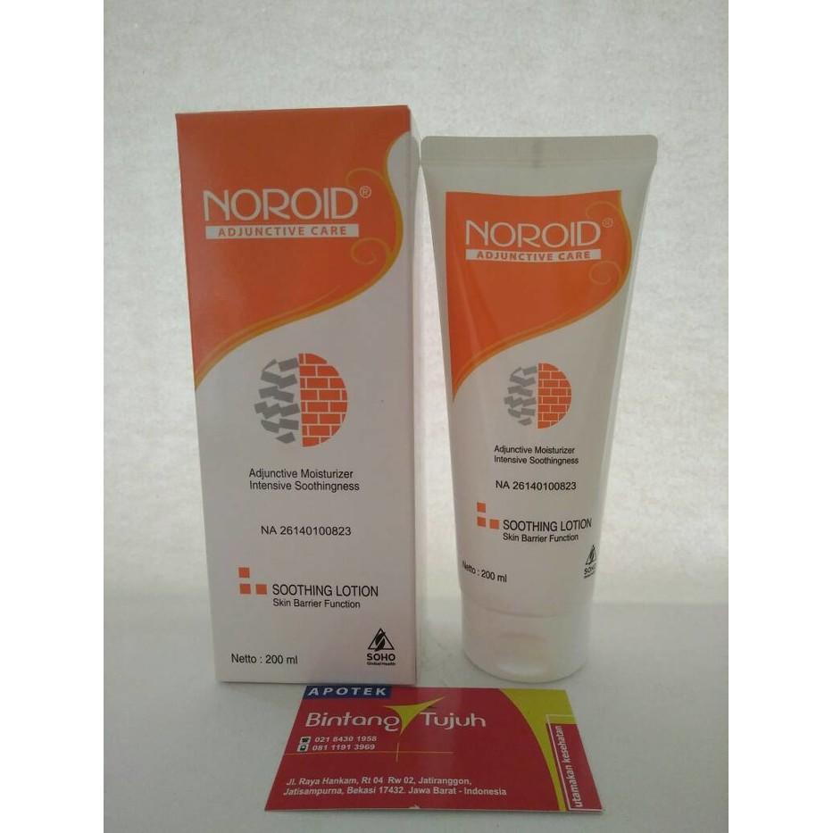 Noroid Soothing Lotion 200 Update Daftar Harga Terbaru Oralit Ml Biji 200ml