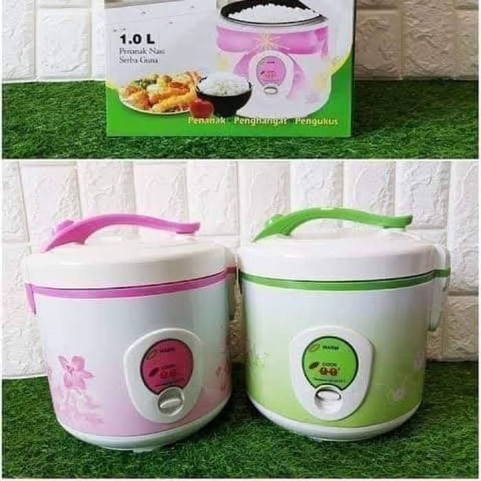 Rice Cooker Magic Com National Qq M818 Penanak Nasi Serbaguna 1 Liter Shopee Indonesia