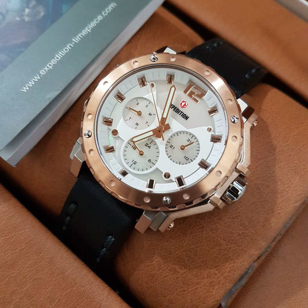 Toko Online Jamsuroboyoid Shopee Indonesia Expedition E6318m Rose Gold Dark Brown
