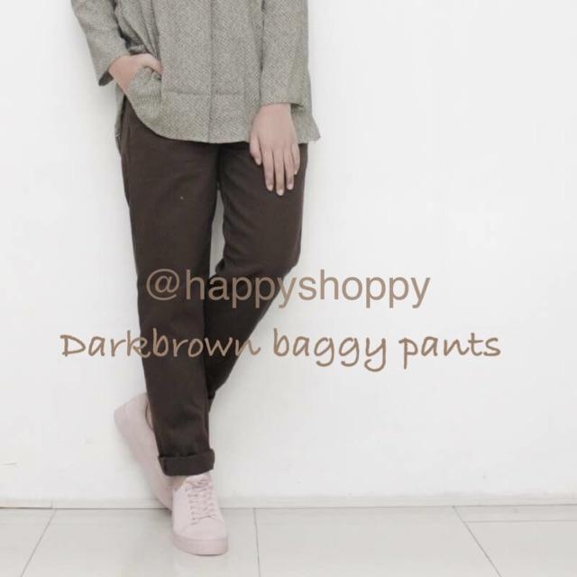 Dark grey baggy pants  d1c9b912df