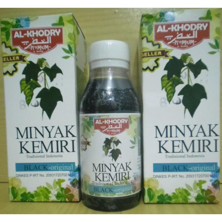 Herbal Obat Penumbuh Rambut Botak/Rontok, Obat Penumbuh Jenggot, Penumbuh Jambang | Minyak Kemiri Al