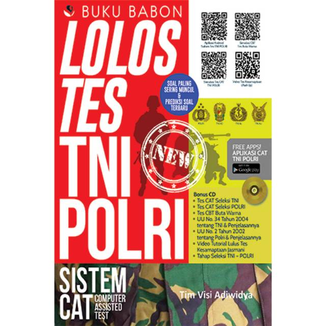 Buku Babon Lolos Tes TNI Polri