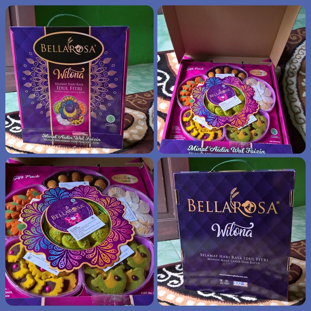 Paket Parcel Kue Lebaran Bellarosa Deluxe Hijau Daftar Harga Dante Ungu Heboh Kering Wilona Purple Shopee Indonesia