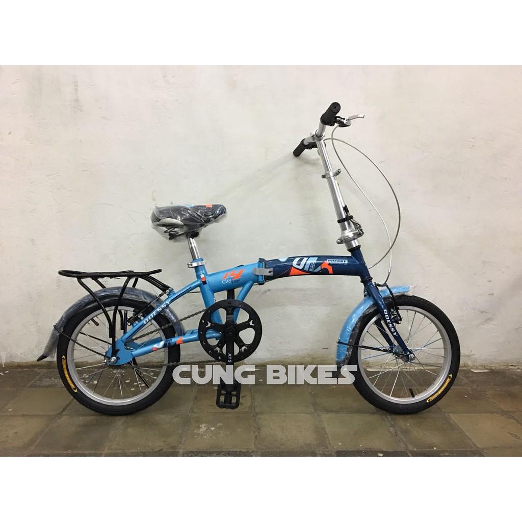 Sepeda Anak Lipat Odessy Od33 Ukuran 16 Warna Kombinasi Shopee Indonesia