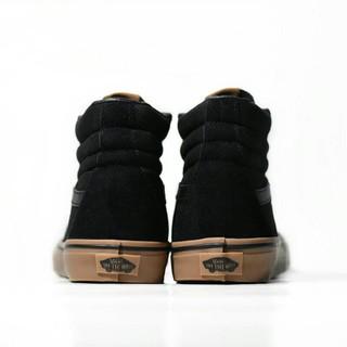 2b08de7a00 Promo Sepatu Murah Sepatu Vans SK8 Hi Premium Import Black Gum Casual  Sneakers Pria