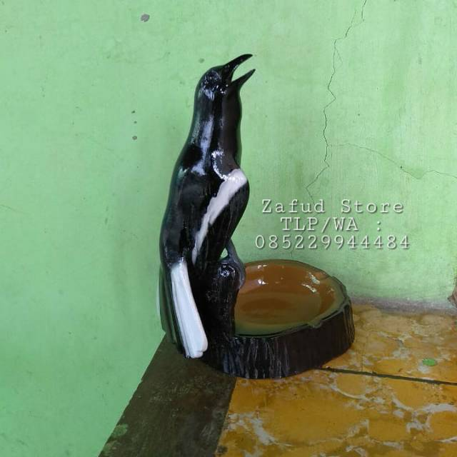 Asbak Burung Kacer Gaya Ngobra Shopee Indonesia