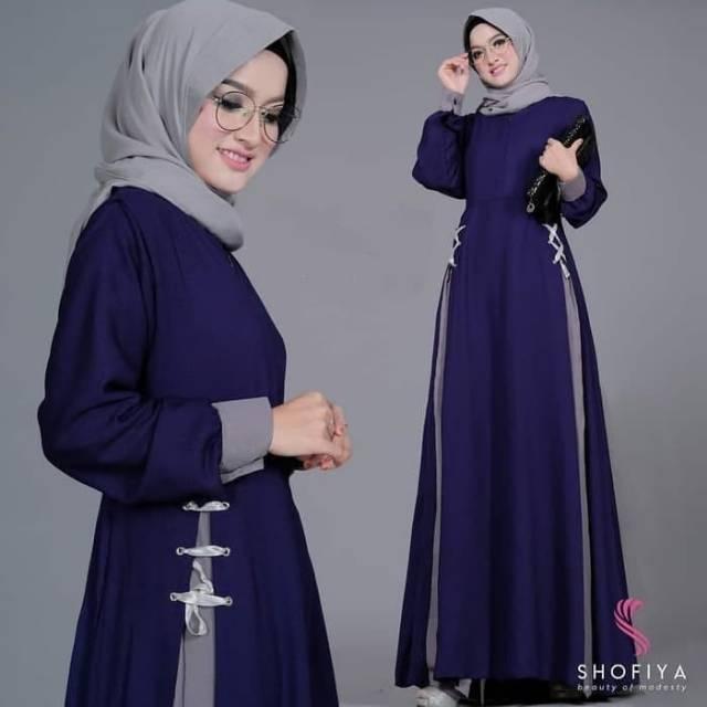 Model Baju Gamis 2020 Simple Hijabfest