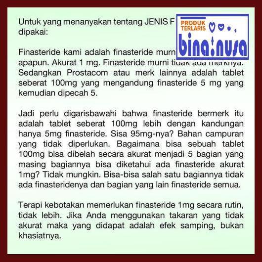 W5wt47 Finasteride 1mg Suplemen Rambut Anti Botak Kebotakan Pria Dewasa 56edyr Shopee Indonesia