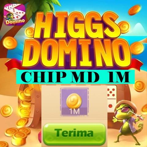KOIN ECERAN 1M CHIP MD HIGGS DOMINO ISLAND