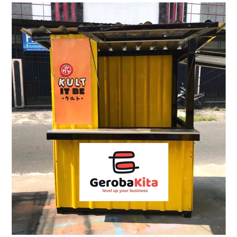 Booth Container / gerobak kontainer / booth jualan