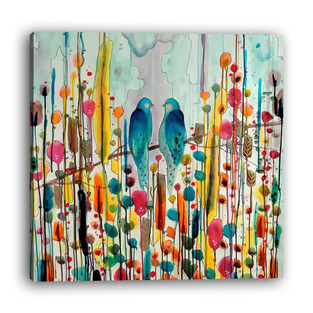 1pc Lukisan Dengan Bahan Mudah Dilepas Dan Gambar Abstrak Bergaya