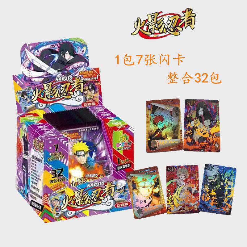 Set Mainan Koleksi Kartu Game Karakter Anime Naruto Edisi Ninja Untuk Anak