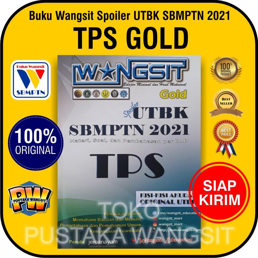 Buku Wangsit Spoiler UTBK SBMPTN 2021 / TPS Gold 2021 ...