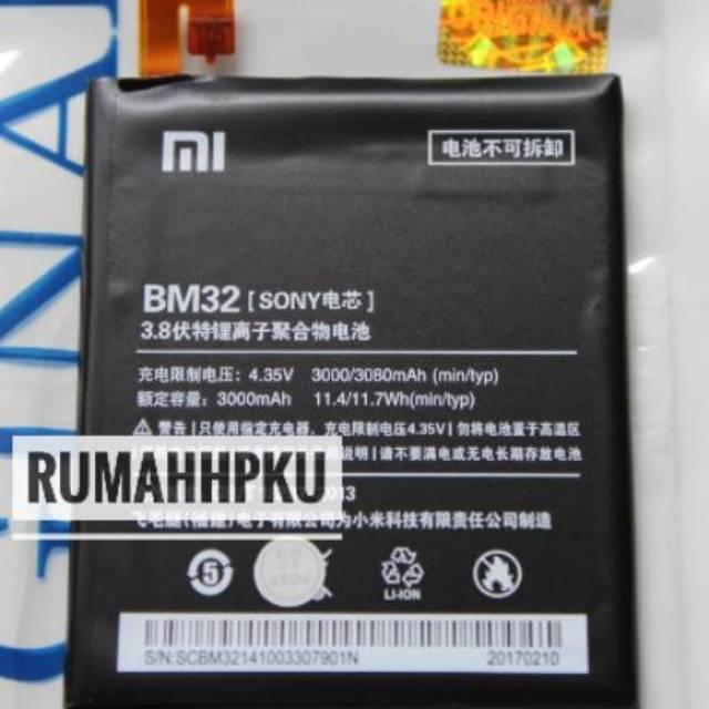 Baterai batre Xiaomi Mi4 Mi 4 BM32 original