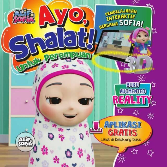 Buku 3d Interaktif Ayo Shalat Buku Anak Buku Ajaib Little Hippo Ar Cewek Shopee Indonesia