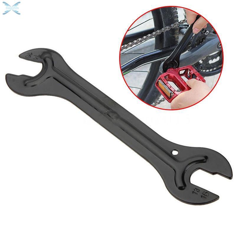 4 in1 Steel Bicycle Bike Axle Hub Cone Wheel Wrench Spanner Repair Tool 13-16mm