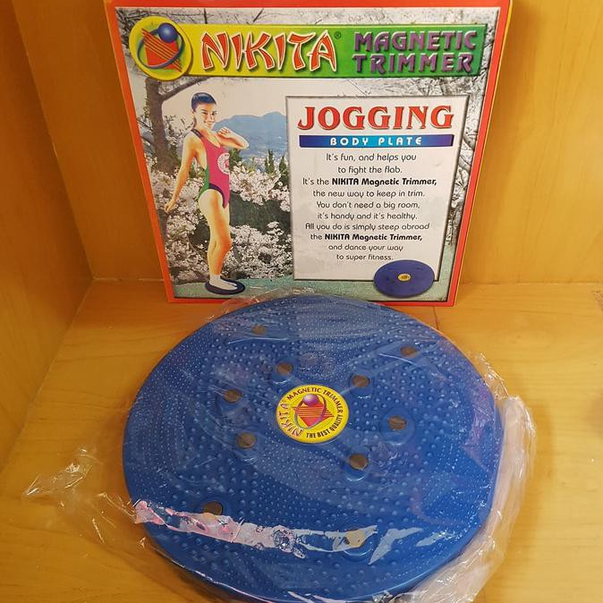 DISKON Jogging Magnetic Trimmer Nikita / Alat Pelangsing Tubuh Nikita Hemat 40%   Shopee Indonesia