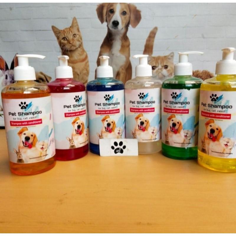 Shampo Kucing Anjing SHAMPO PLUS KONDITIONER 500ML-2