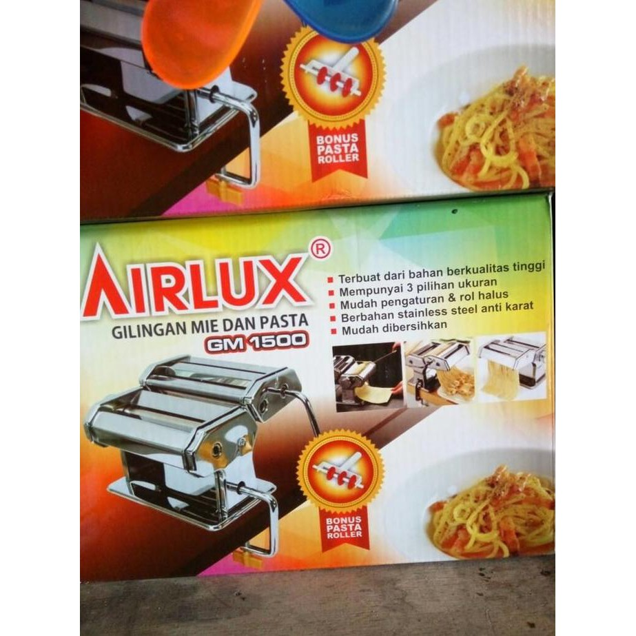 Gilingan mie serbaguna Atlas marcato /pasta & noddle maker | Shopee Indonesia