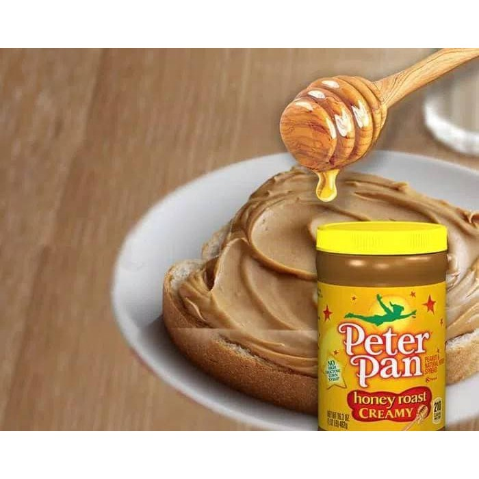 Peter Pan Creamy Peanut Butter Spread Selai Kacang Krim Hg 3190 Shopee Indonesia