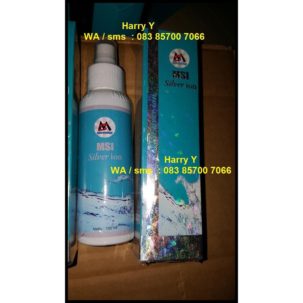 Msi Bio Spray Silver Ion Daftar Harga Termurah Terkini Dan Ionic Water Ag Air Perak 60ml Isi 10 Btl Per Paket Fruit Serum Sabun Susu Collagen Original Shopee