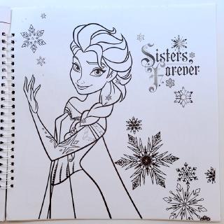 Buku Anak Anak Menggambar Aisha Mewarnai Buku Frozen Little Princess Mewarnai Lukisan Gambar Buku Tk Shopee Indonesia