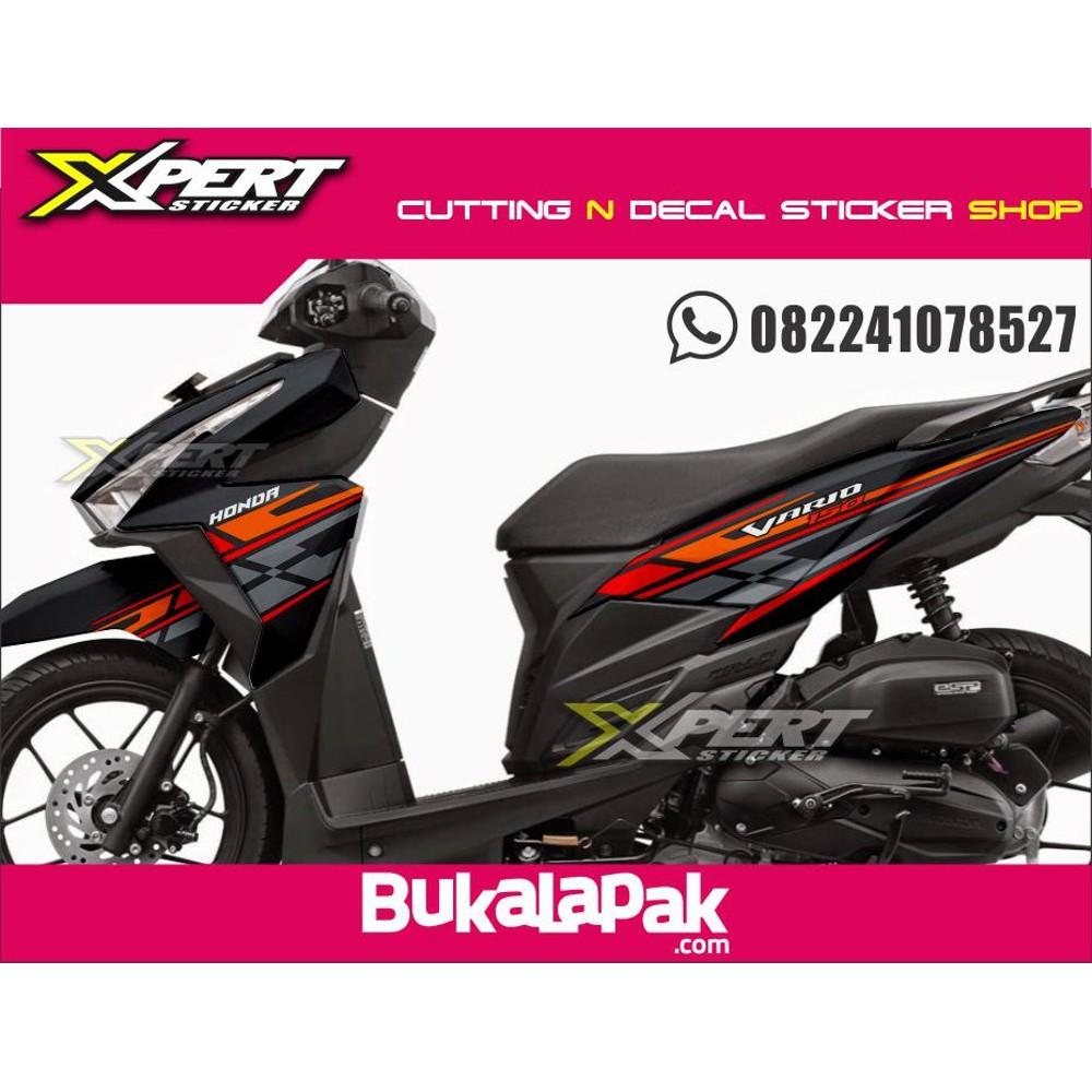 Stiker vario 150 cutting sticker vario 150 striping vario 150 terlaris shopee indonesia