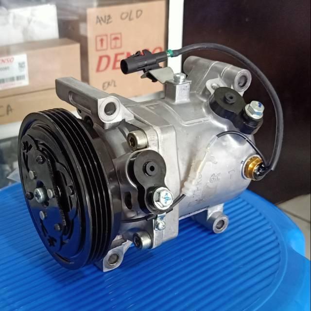 Kompresor Ac Mobil X Over Swift Estillo Sigma Komplit Bagus Compressor Suzuki Xover Splash Murah Shopee Indonesia