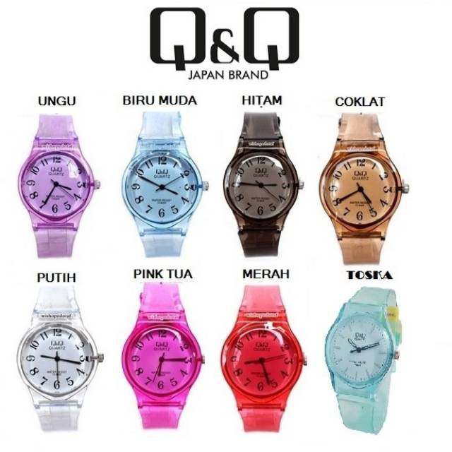 Ready 5 Pilihan Warna Jam Tangan Wanita Best Seller Iphone Paket Murah   Shopee Indonesia