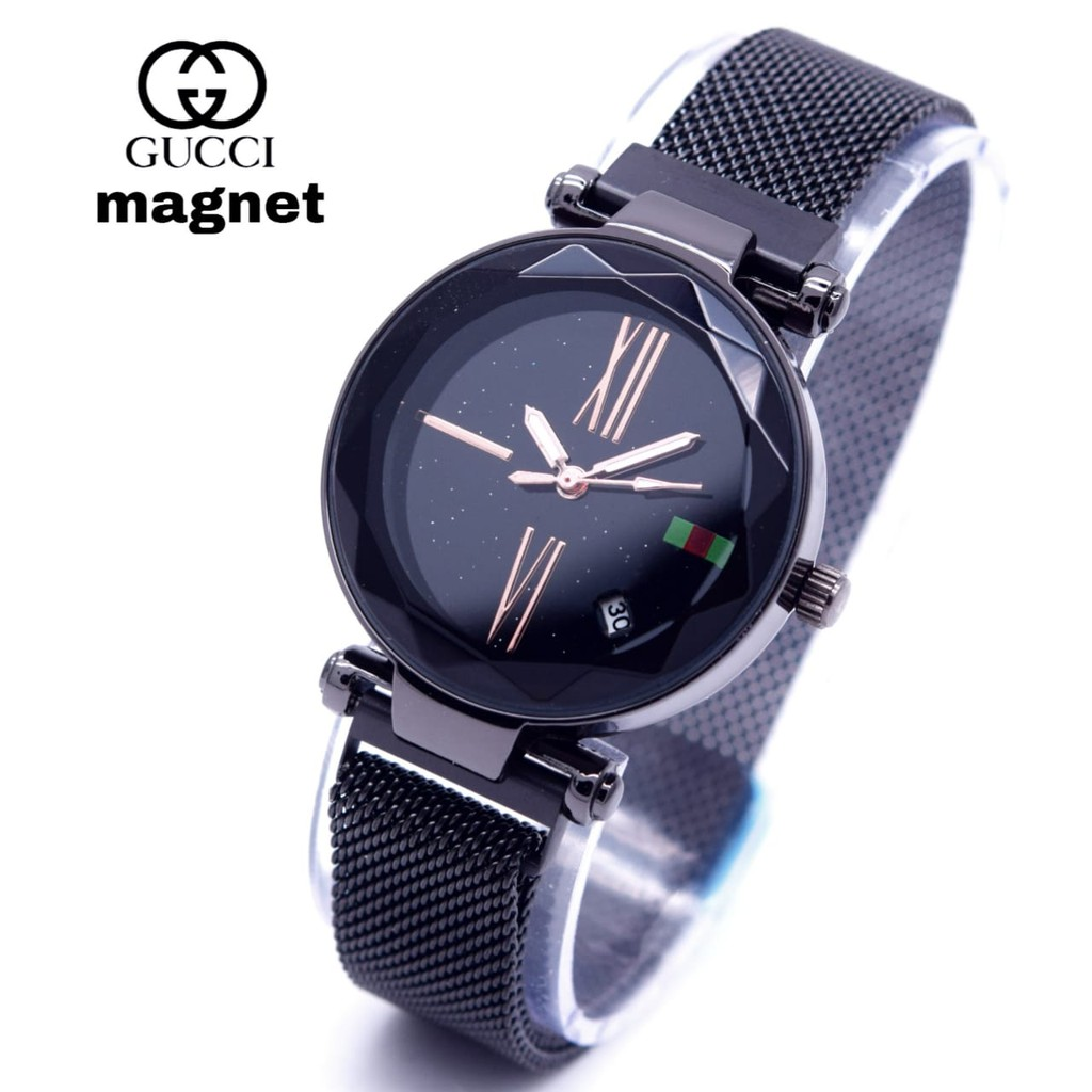 Jam tangan wanita gucci magnet tali pasir/Jam tangan gucci magnet ready 5 warna | Shopee Indonesia