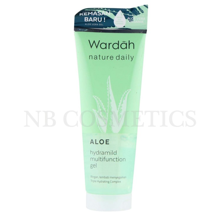 wardah hydramild multifunction gel shopee indonesia