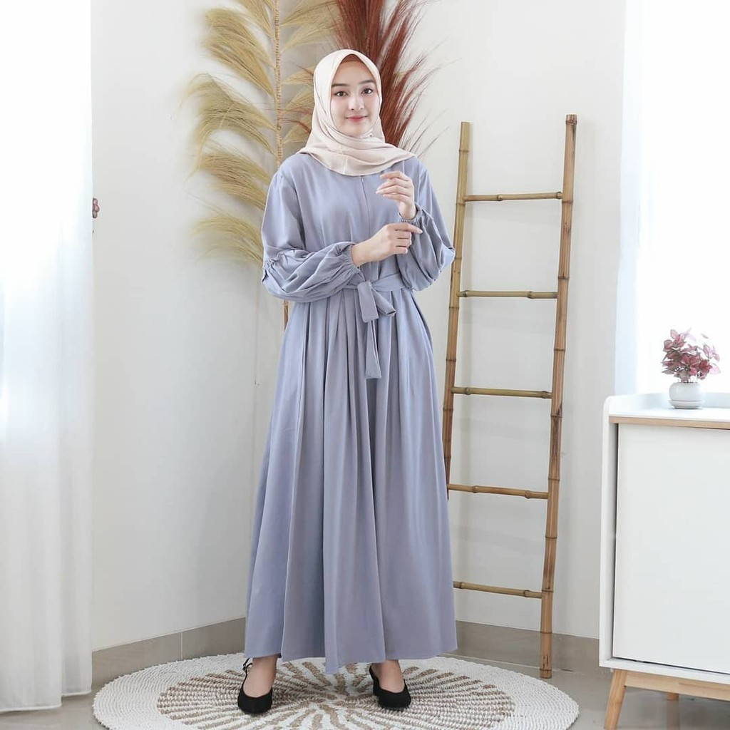Harga Gamis Syari Terbaru Terbaik Dress Muslim Fashion Muslim April 2021 Shopee Indonesia
