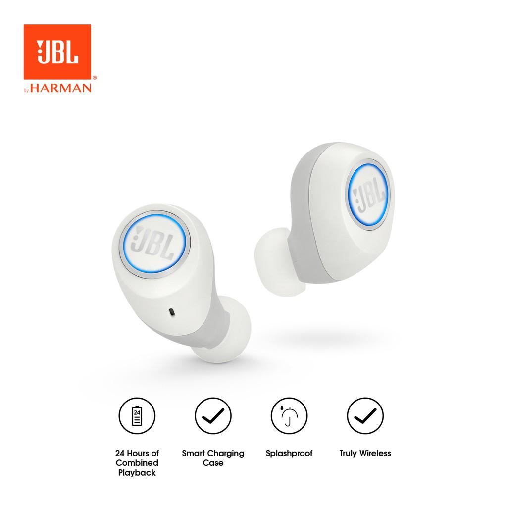 JBL Free Truly Wireless In-Ear Headphones - White