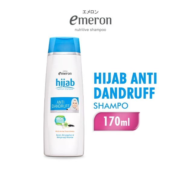 EMERON Shampoo Hijab Anti Dandruff 170 ml