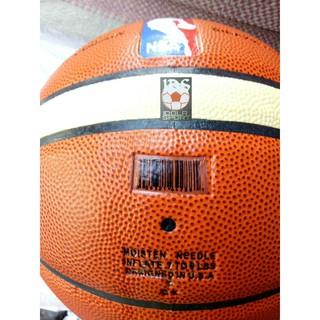 BOLA BASKET SPALDING NBA KULIT PU + POMPA BESI | Shopee