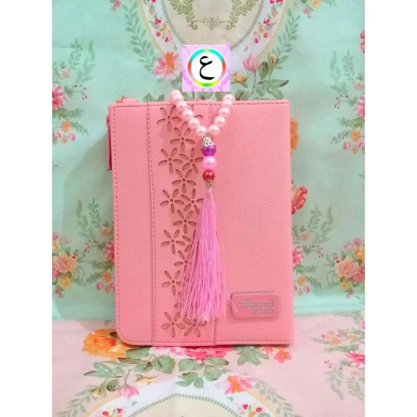 Model Baju Muslim Terbaru Baju Muslim Murah Al Quran Pelangi Dan Tasbih Cantik Yasmina Pink Shopee Indonesia
