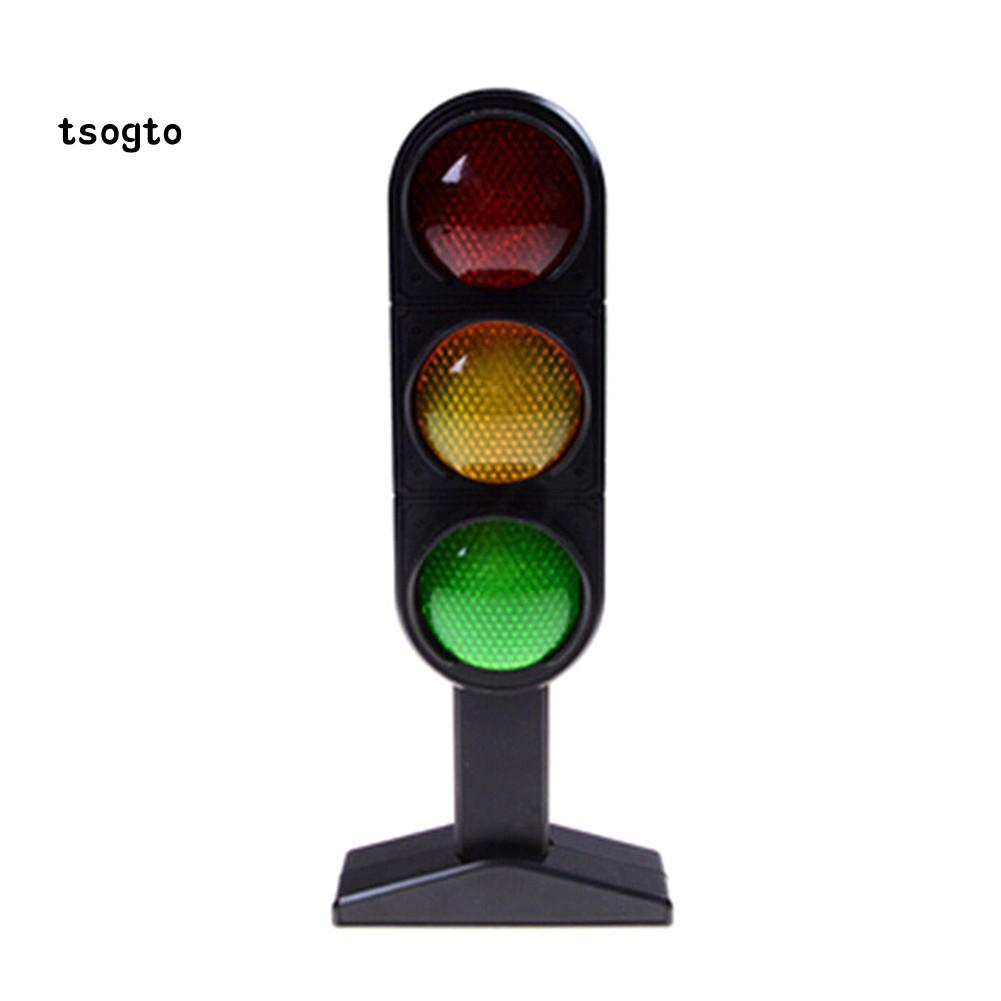 Model Jalan Lalu Lintas Jalan Dengan Lampu LED Untuk Bermain Peran