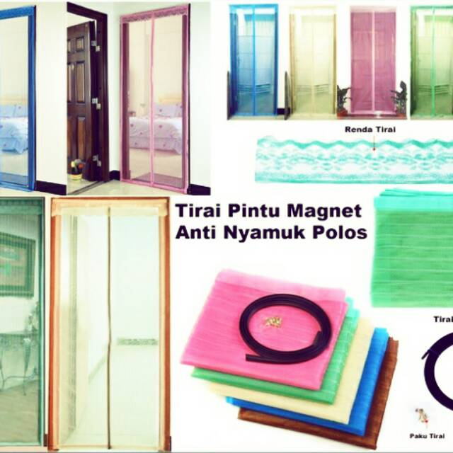 Magic Mesh - Tirai Pintu Magnet Anti Nyamuk dan Serangga | Shopee Indonesia
