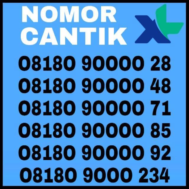 Nomor Cantik XL Nomer XL Super Murah Rapih Kartu Perdana XL 4G LTE   Shopee Indonesia