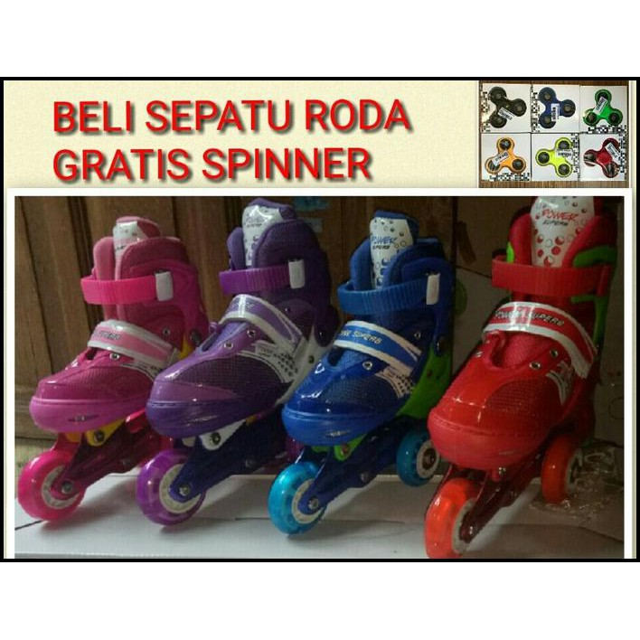 Exclusive Sepatu Roda Power Brave Biru Termurah - Info Harga Baru ... 3cd606d68b