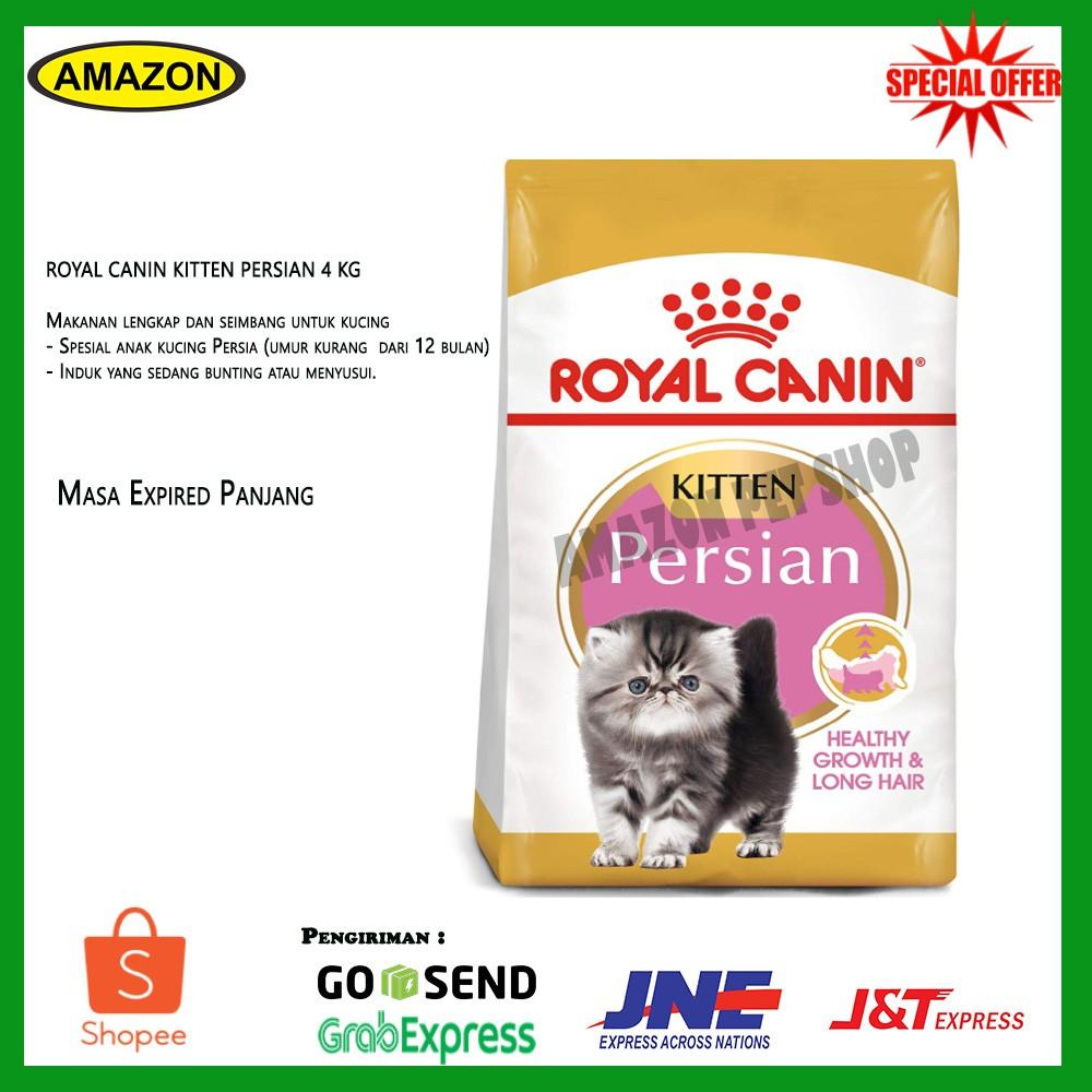 Makanan Kucing Royal Canin Persian Cat Kitten 4kg Makanan Kucing