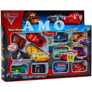 MOBIL RACING CARS 12 PCS PULL BACK kado hadiah Mainan Anak Laki laki perempuan bayi cewek cowok mur
