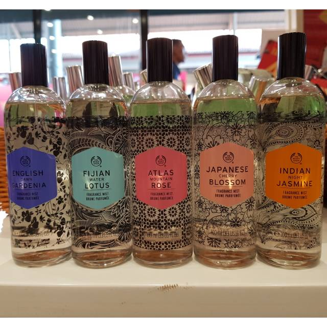 The Body Shop Fragrance Mist Voyage 100ml Shopee Indonesia